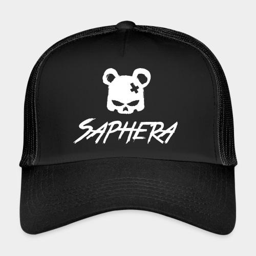 SAPHERA LOGO WHITE TRANS - Trucker Cap