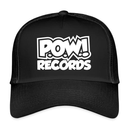 POW Logo Black White - Trucker Cap