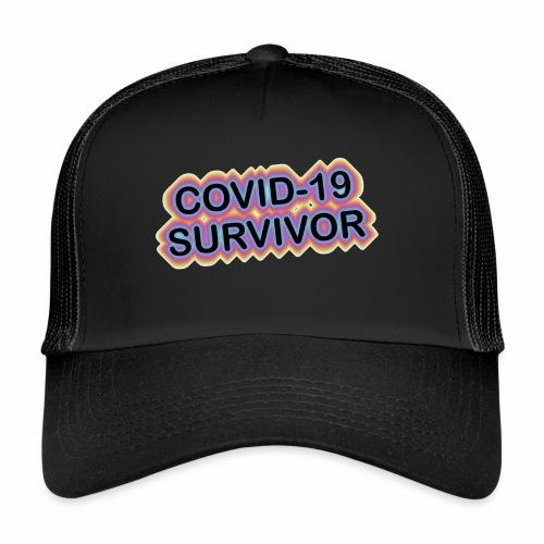 covic19survivor - Trucker Cap