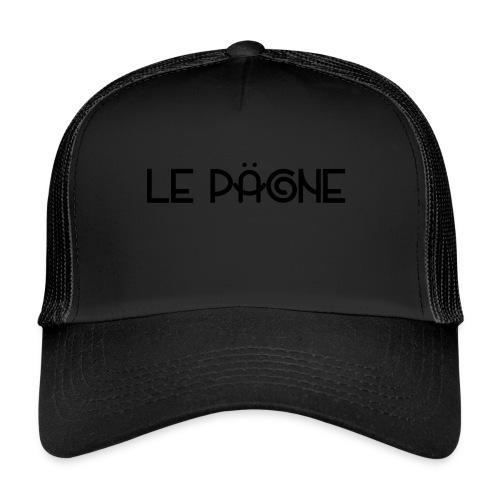 Le Pägne Logo Noir - Trucker Cap
