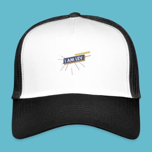 I AM LEV Banner - Trucker Cap