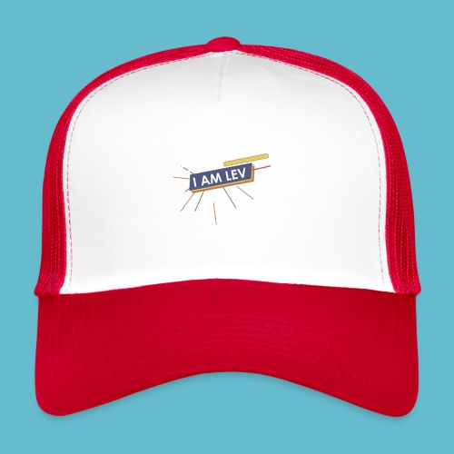 I AM LEV Banner - Trucker Cap