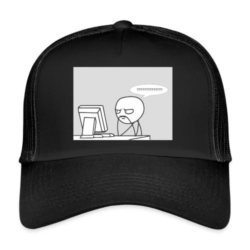 confused - Trucker Cap