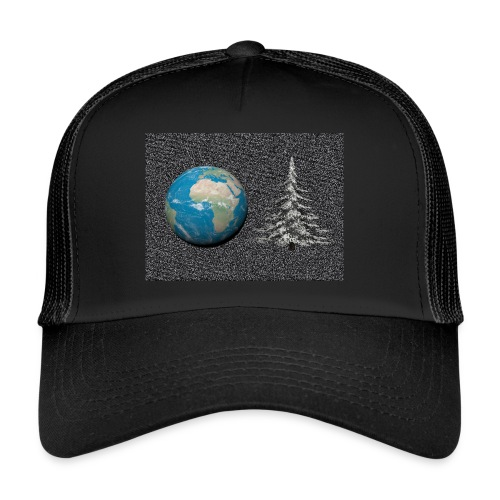 world_christmas3 - Trucker Cap