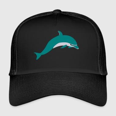 Grüner Delphin - Trucker Cap