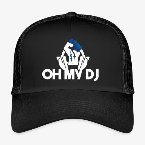 Ibiza Oh My Dj White - Trucker Cap
