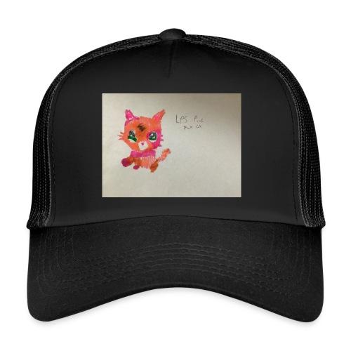 Little pet shop fox cat - Trucker Cap