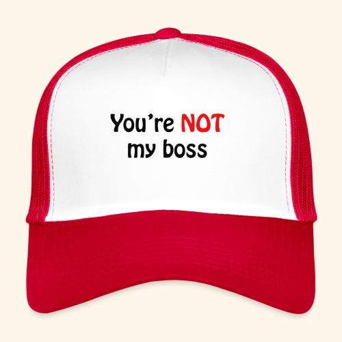boss - Trucker Cap