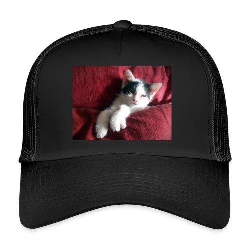 Katze in rot - Trucker Cap