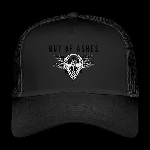 Out Of Ashes White - Trucker Cap