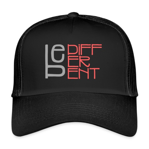 Be different - Fun Spruch Statement Sprüche Design - Trucker Cap