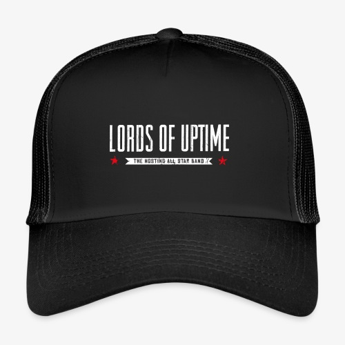 Lords of Uptime typo - Trucker Cap