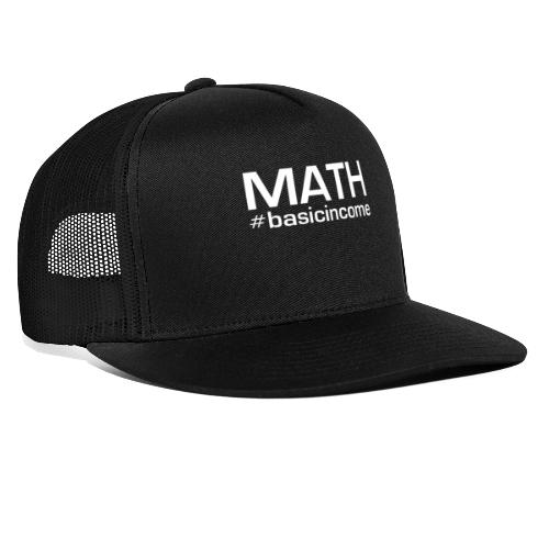 math white - Trucker Cap