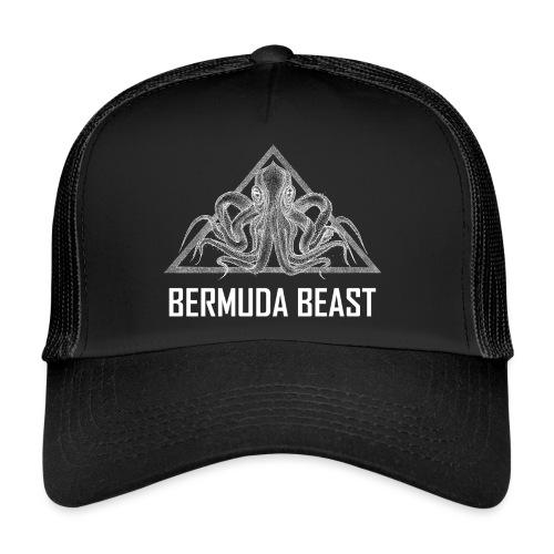 real beast weiß - Trucker Cap