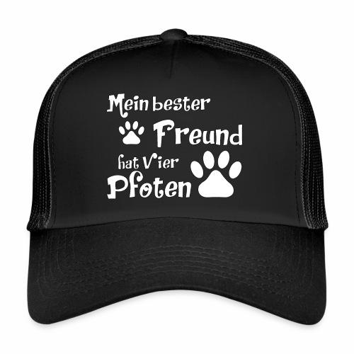 Mein bester Freund hat vier Pfoten - Katze - Trucker Cap