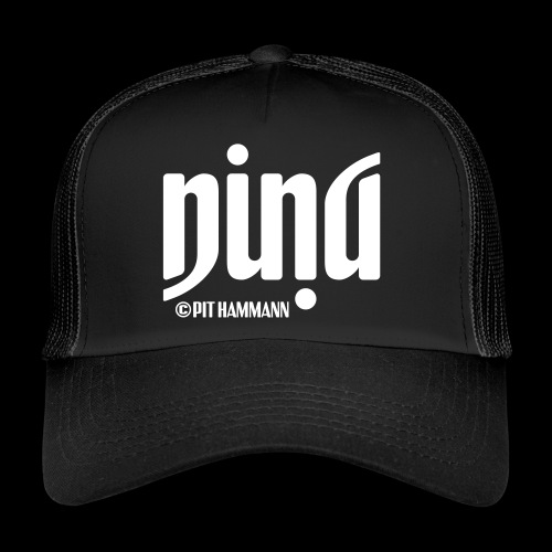 Ambigramm Nina 01 Pit Hammann - Trucker Cap