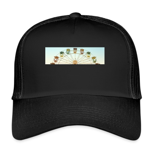 header_image_cream - Trucker Cap