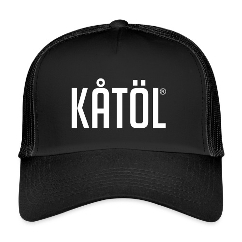 kåtöl_text_white - Trucker Cap