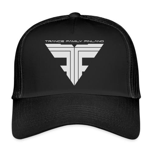 TFF Logo White - Trucker Cap
