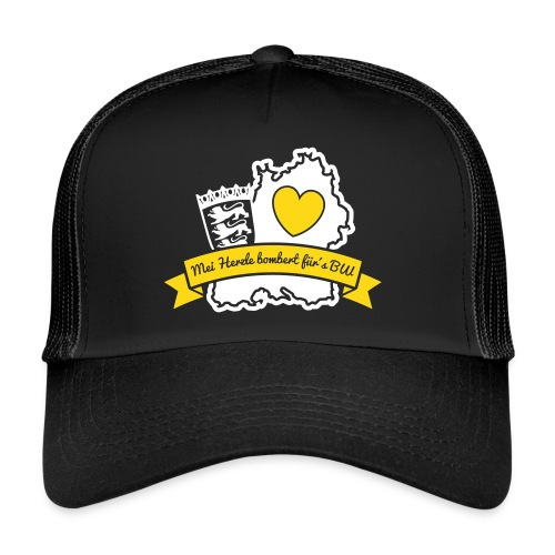 Herzle BW - Trucker Cap
