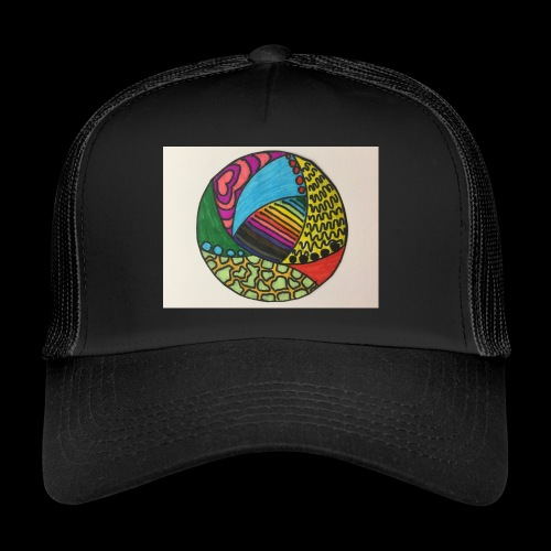 circle corlor - Trucker Cap