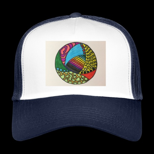 circle corlor - Trucker Cap
