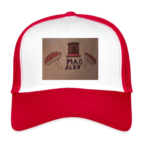 Mad Alex Logo - Trucker Cap