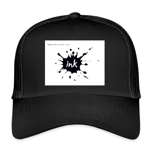 Ink Logo and website - Trucker Cap