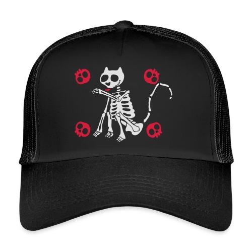 Katzen Skelett - Trucker Cap