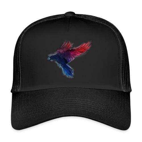 Watercolor Raven - Trucker Cap