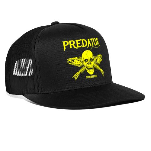 Predator fishing yellow - Trucker Cap