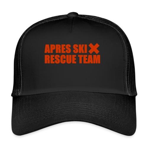 apres-ski rescue team - Trucker Cap