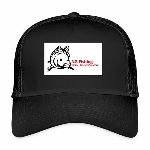 ng fishing logo new - Trucker Cap