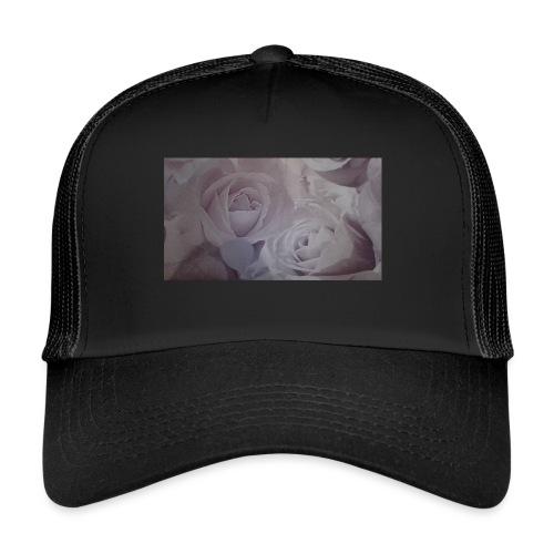 perfect pink rose's - Trucker Cap