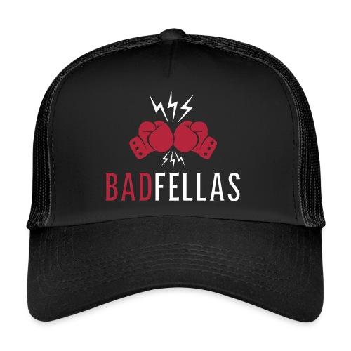 badfellas_boxing_white - Trucker Cap