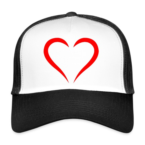 open heart - Trucker Cap