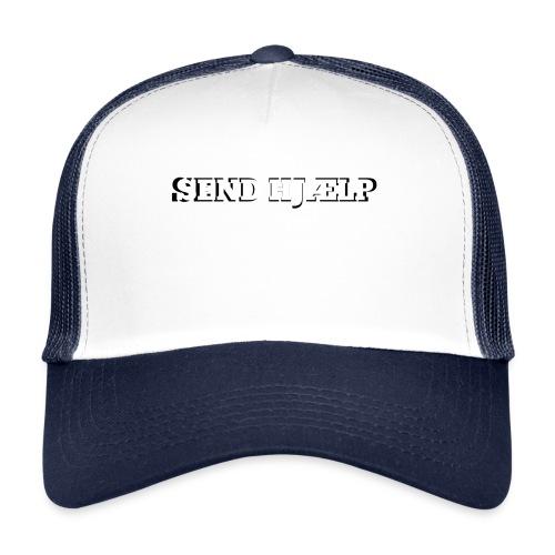 SEND HJÆLP T-shirt - Trucker Cap