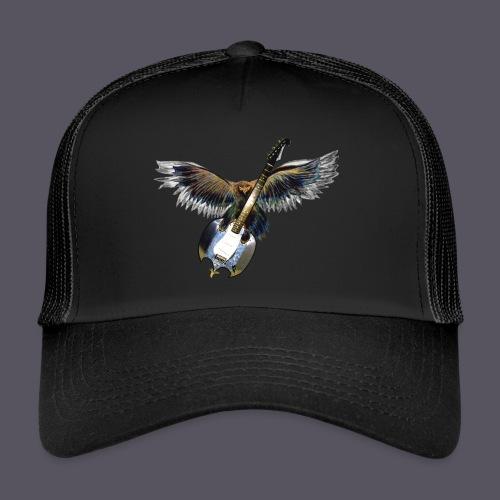 Greifvogel mitGitarrenbeute - Trucker Cap