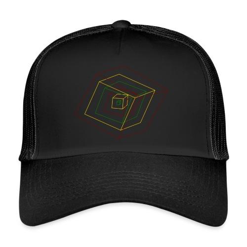 Rasta Cubes - Trucker Cap