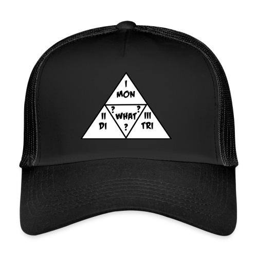Mon_Di_Tri_What? Black Desert Tri Force - Trucker Cap