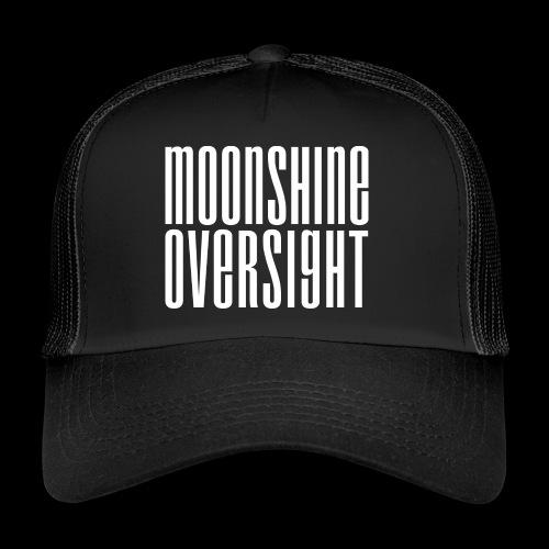 Moonshine Oversight blanc - Trucker Cap