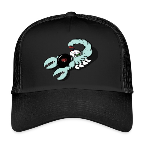 Space Scorpions?! (Colour) - Trucker Cap