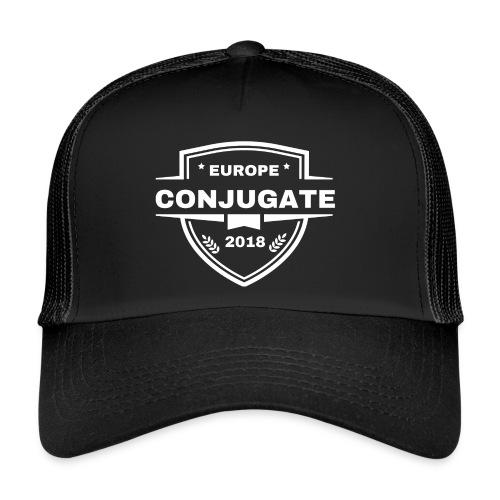 Conjugate white - Trucker Cap