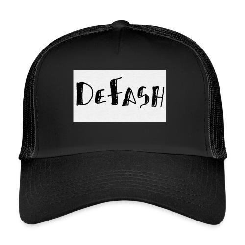 Defash1-png - Trucker Cap