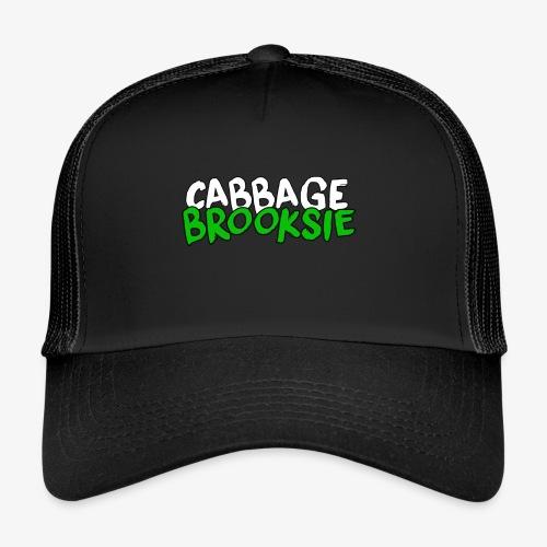 cabbagebrooksie logo v2 - Trucker Cap