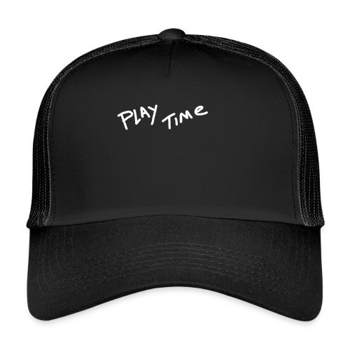 Play Time Tshirt - Trucker Cap