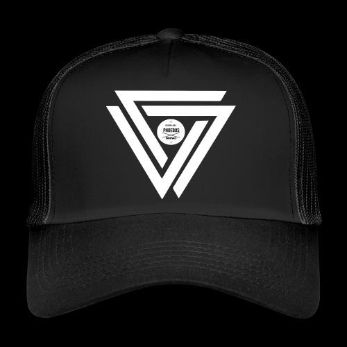 08 logo complet withe - Trucker Cap