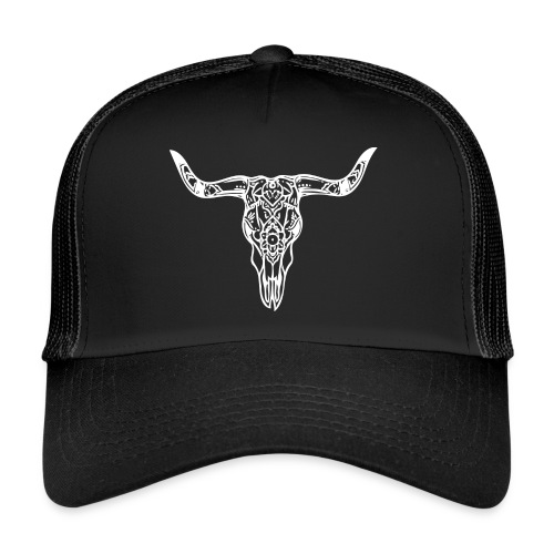 LaBestiaWhiteLogo png - Trucker Cap