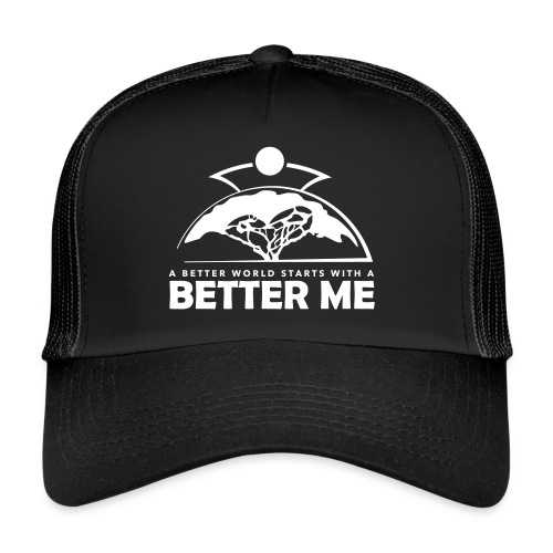 Better Me - White - Trucker Cap