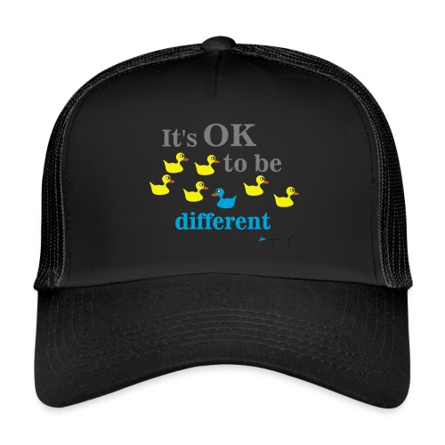 It's OK to be different - Trucker Cap